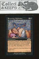 MtG Magic the Gathering Exodus: Recurring Nightmare (Rare) LP *B*