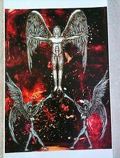 Angels Print Trumpets Graphic Art Angel