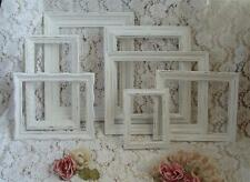 7 Lot Picture Frames Chic Shabby White Cottage Wedding