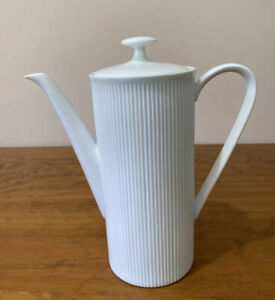 Vintage Arzberg Coffee Pot Athena White Made In Germany
