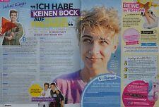 LUKAS RIEGER - 2 Seiten Bericht - Clippings Artikel Fan Sammlung NEU