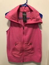Under Armour Womens Peak Performance Fleece Vest - Pink- Small Cold Gear
