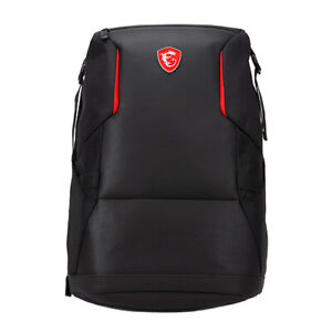 MSI Urban Raider Gaming Backpack Black - Fits up to 17  Laptops - Rated IPX2 for