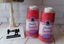 WATERMELON SORBET Maxilock Swirls Decorative Overlocker Thread, variegated swirl