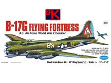 Guillows B-17g Flying Fortress WWII Balsa Plane Model Kit