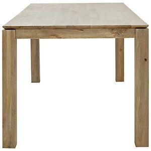 JOHN LEWIS ASHA WOODEN DINING TABLE - NON EXTENDING 180cm X 90cm - NEW