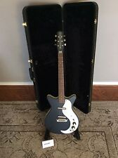 Danelectro DC59 with CASE! / Satin Black / Jimmy Page / Professionally Set-Up