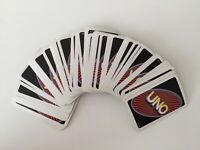 Large Bundle Of Vintage Mattel UNO Cards From The Electronic Extreme Game 1998.