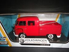 Motormax Volkswagen Type 2 T1 Entrega Camioneta Rojo 1/24 79343