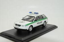 Rare !! Audi A6 Avant Police Policie Czech Republic Custom Made 1/43