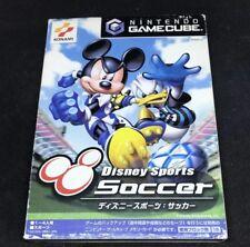Disney Soccer For Gamecube Japanese *USA SELLER* Complete