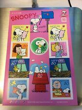 SNOOPY 2010, G38 D Sticker Type Japan Stamp