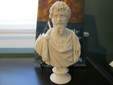 Septimius Severus Bust; 7-inch Statue of the Roman Emperor