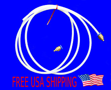 2M 4M Teflon PTFE Tube Tubing 2mm ID 4mm OD Bowden Extruder 1.75 mm Fittings 2 M