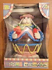 Glass Easter Bunny Rabbit Egg Holiday Festival Mantle Table Decorate Collectible
