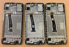3x Huawei P Smart 2019 POT-LX1 Cracked Glass TOUCH DIGITIZER ASSEMBLY FRAME