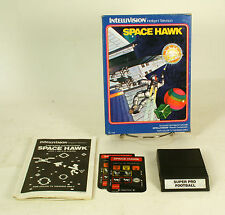 Vintage Boxed Intellivision Game Space Hawk Tested & Working CIB