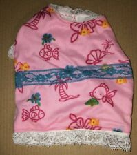 Dog Dress Outfit Clothes Chihuahua Toy Breed Pink Tropical Print Small