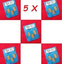 5X GOLD 1 GRAM 24K PURE TGR BULLION BARS 999.9 THE PERFECT PREPPERS COMBO PACKS