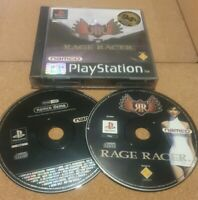 Rage Racer (PS1 Sony PlayStation 1, 1997) - PAL Includes Namco demo Disc