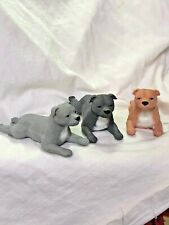 Neil Eyre Designs Staffordshire Bull Terrier Shea Butter Hand soap Art sculpture