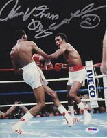 Sugar Ray Leonard Tommy Hearns Dual Signed 8x10 Photo - Sugar Punch PSA/DNA COA