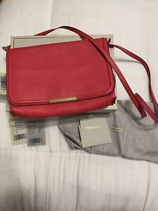 Womens Hot Pink Emilio Pucci Leather Shoulder Bag