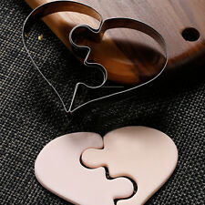 Stainless Cake Biscuit Pastry Cookies Cutter Round Baking Love Heart Mold