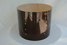 "PDP by DW CONCEPT BIRCH 10"" TRANSLUCENT WALNUT TOM SHELL for YOUR DRUM SET! T935"