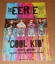 The Eeries Cool Kid Poster Original 2014 Promo 22x14