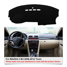 Car Dashboard Mat Dashmat Carpet For MAZDA 3 M3 2003-2008 Years Sun Shade Cover