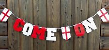 ENGLAND EURO CHAMPIONSHIPS FOOTBALL BANNER (RUGBY BUNTING)