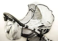 DaVos Quality Universal Buggy Pushchair Stroller Pram Transparent Rain Cover