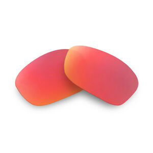 Fit&See Polarized Red Replacement Lenses for Oakley Hijinx