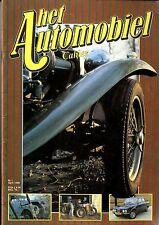 1980 HET AUTOMOBIEL MAGAZIN 1 EERSTE UITGAVE ALFA ROMEO GIULIA DION BOUTON DX