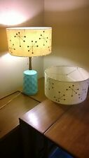 Mid Century Vintage Style Fiberglass Lamp Shade Modern Atomic IGSB