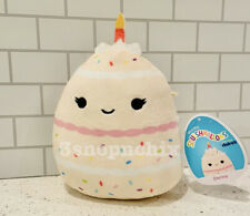 "NEW! Squishmallow 5"" DORINA Birthday Cake  Claire's Exclusive SAME DAY SHIP"