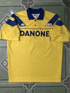 100% Original Vintage Juventus Away jersey 1992/1993 Jersey  M/L men size Kappa