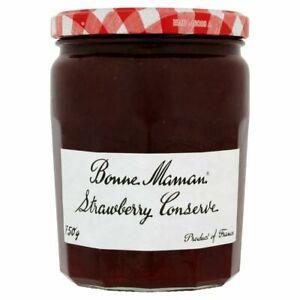 Bonne Maman French Strawberry Conserve Jam Breakfast & Baking Large 750g