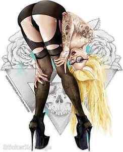 4-3-2-1 Blonde Sticker Decal Artist Tyson McAdoo TY9