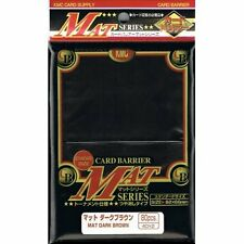 KMC KMC Matte Dark Brown Sleeves (80) MTG / POKEMON/ WOW
