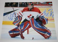 Dustin Tokarski signed Canada 8x10 photo COA