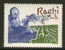 TIMBRE 3746 NEUF XX LUXE - RACHI - RABBIN COMMENTATEUR DE LA BIBLE ET DU TALMUD