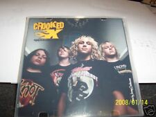 NEW Crooked X CD autographed  hard rock Kiss opener