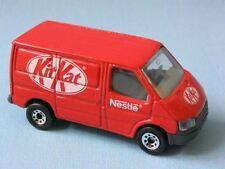 Matchbox Ford Transit Van Kit Kat Rare Promo Kit-Kat Chocolate Toy Model Car