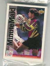 1994 UPPER DECK MINUTE MAID WORLD CUP SOCCER SEALED COMPLETE SET 1-25