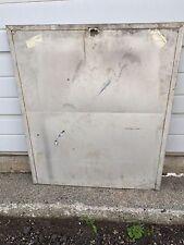 Gottlieb early style Single Player Wedgehead Pinball Machine metal Backbox Door