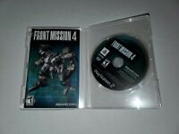 Front Mission 4 (Game and Manual Only) Playstation 2 PS2 Fast Shipping