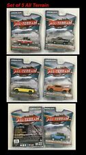 1:64 All Terrain Greenlight Set of 5 OffRoad Vehicles Bronco Ram Trailbuster ++