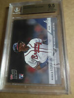 Ronald Acuna Jr BGS GM-MT 9.5 2018 Topps Now Rookie Record Atlanta Braves /2410